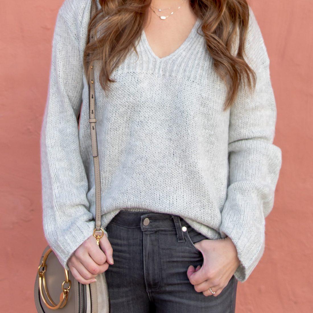 Style Charade Grey Sweater