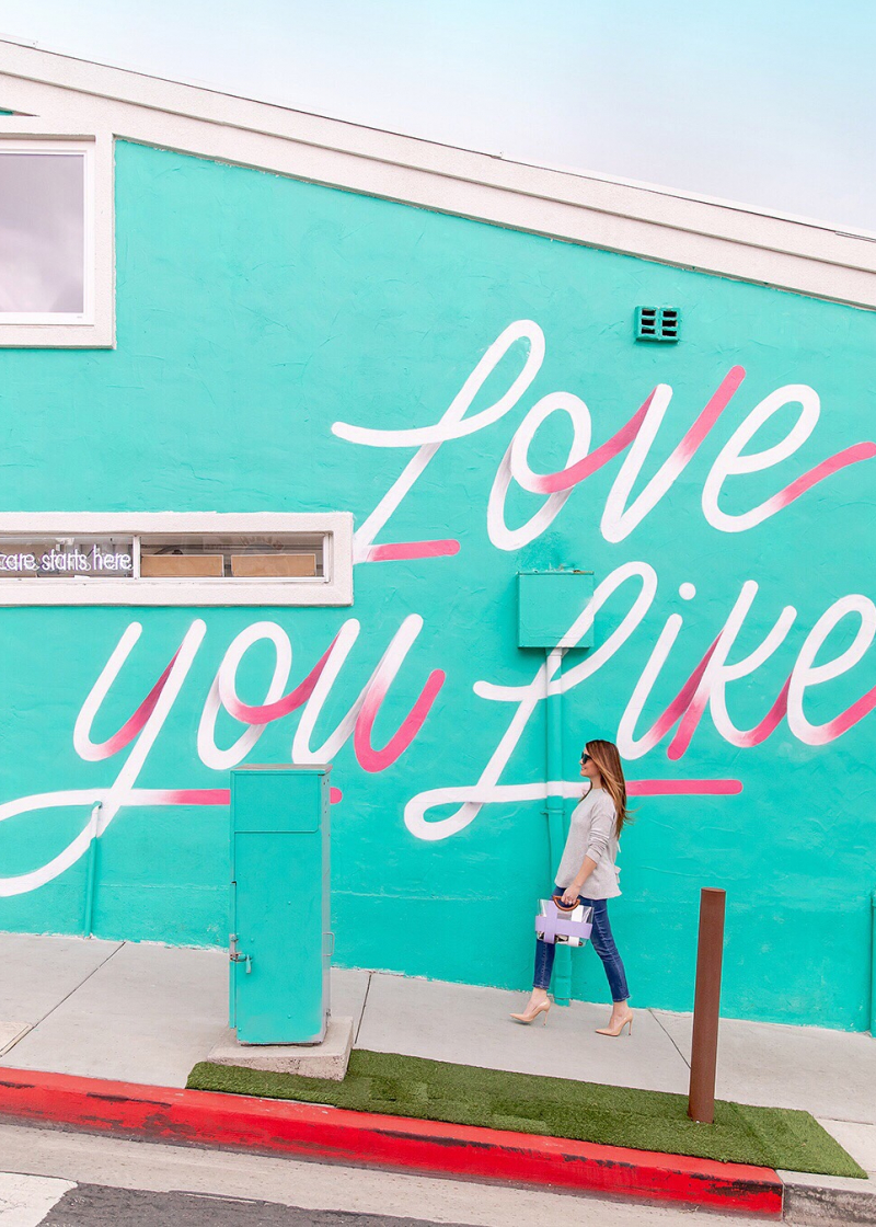 Love You Like Manhattan Beach Mural