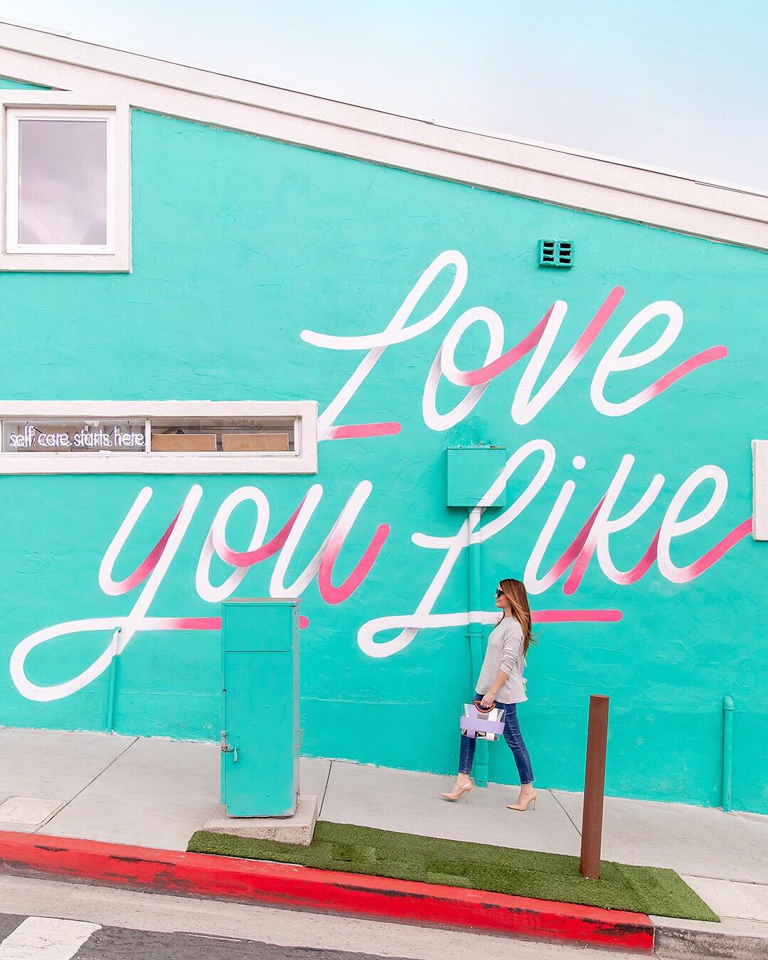 Love You Like Manhattan Beach Mural