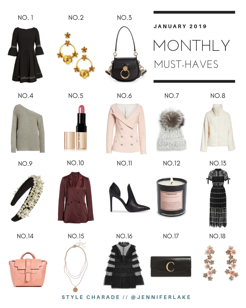 January 2019 Must-Haves