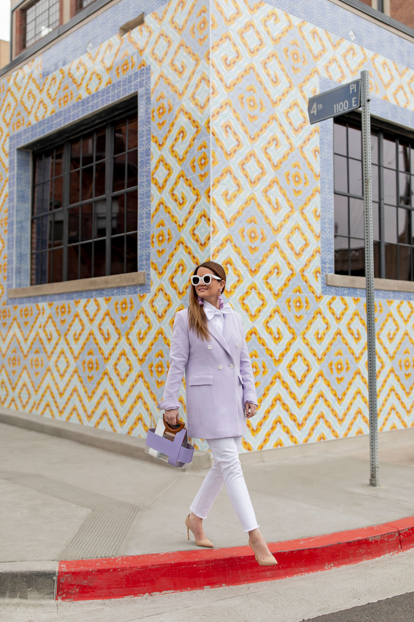 Colorful Tile Building Los Angeles