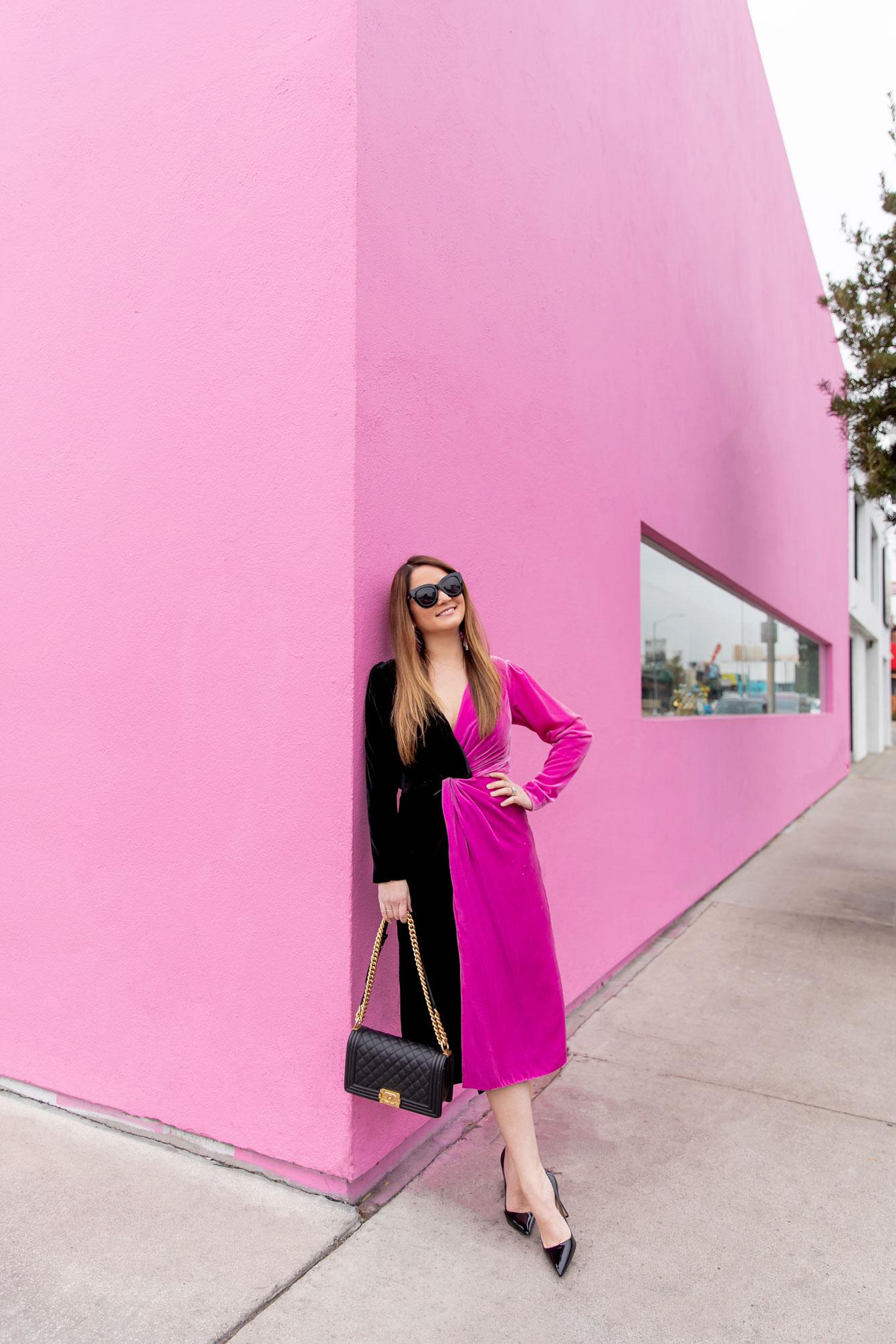 Delfi Collective Velvet Dress