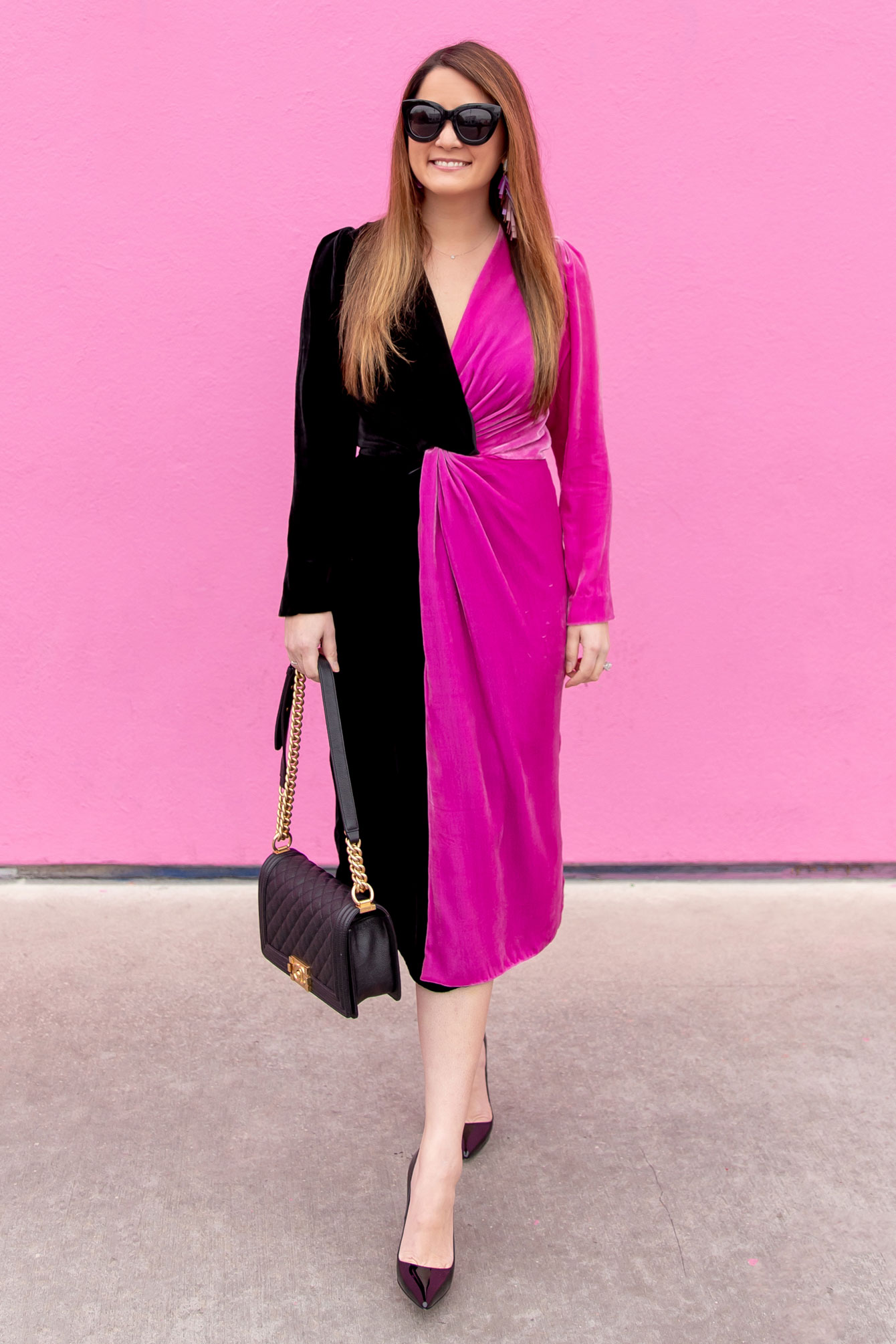 Delfi Velvet Dress
