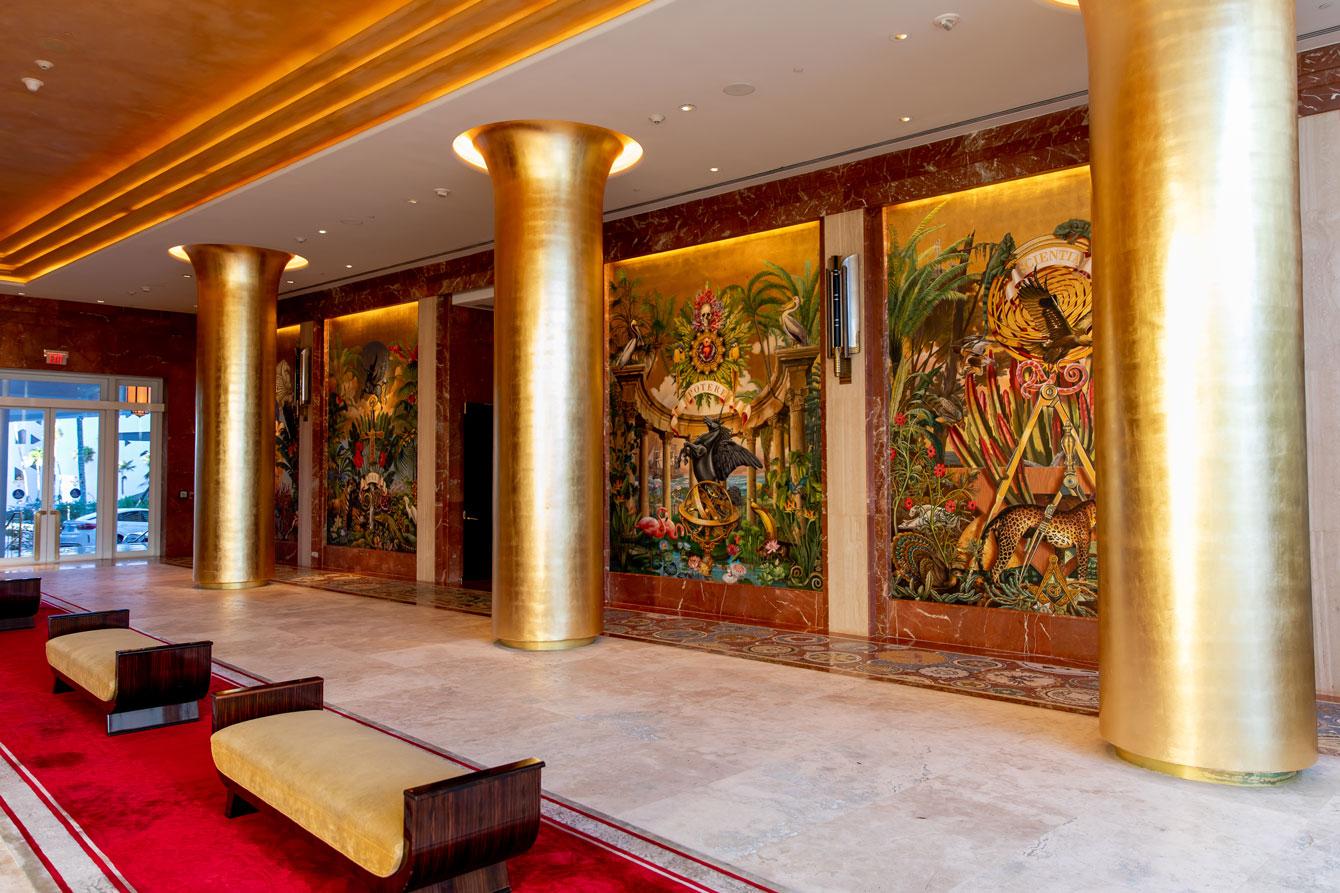 Faena Miami Beach Lobby Mural
