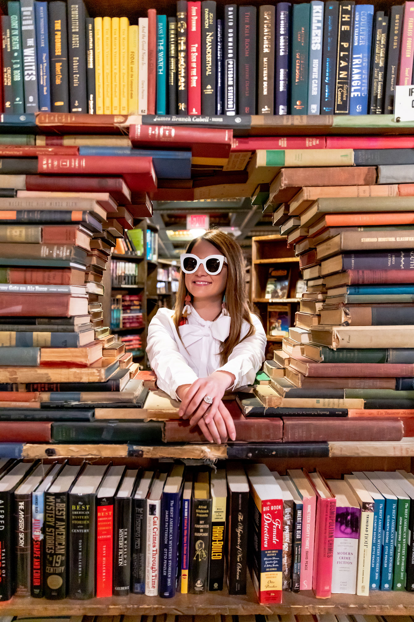 Jennifer Lake The Last Bookstore Los Angeles
