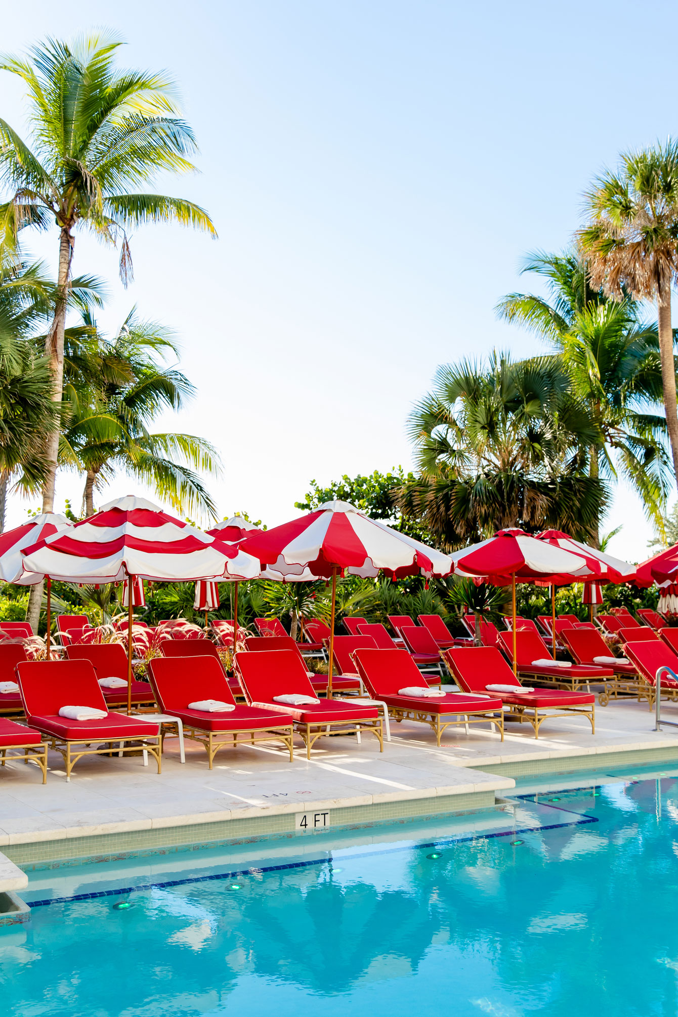 Miami Beach Red Chairs