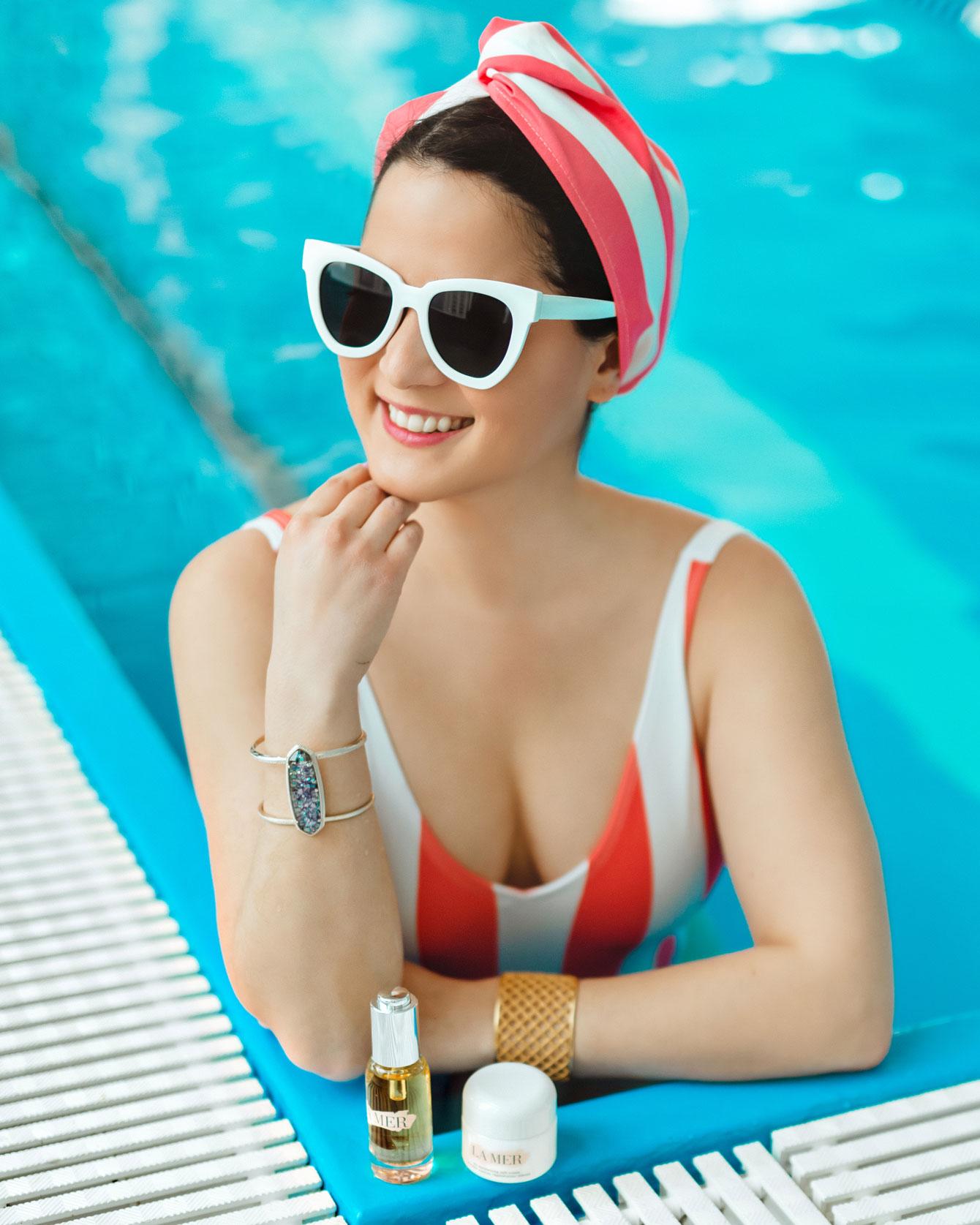 Shady Lady White Sunglasses
