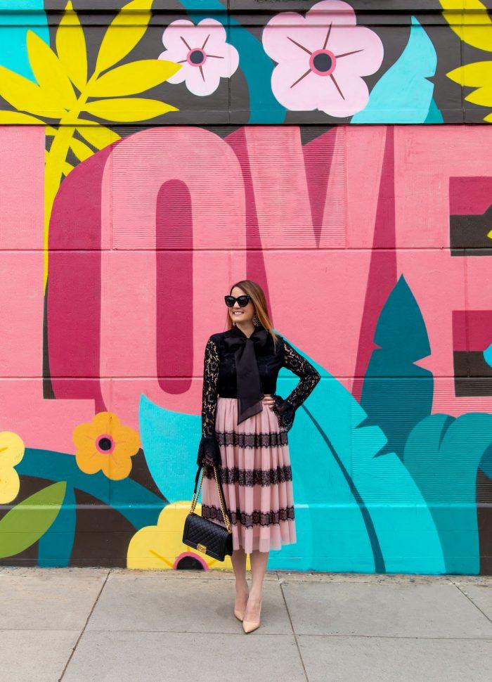 Colorful Los Angeles Love Mural