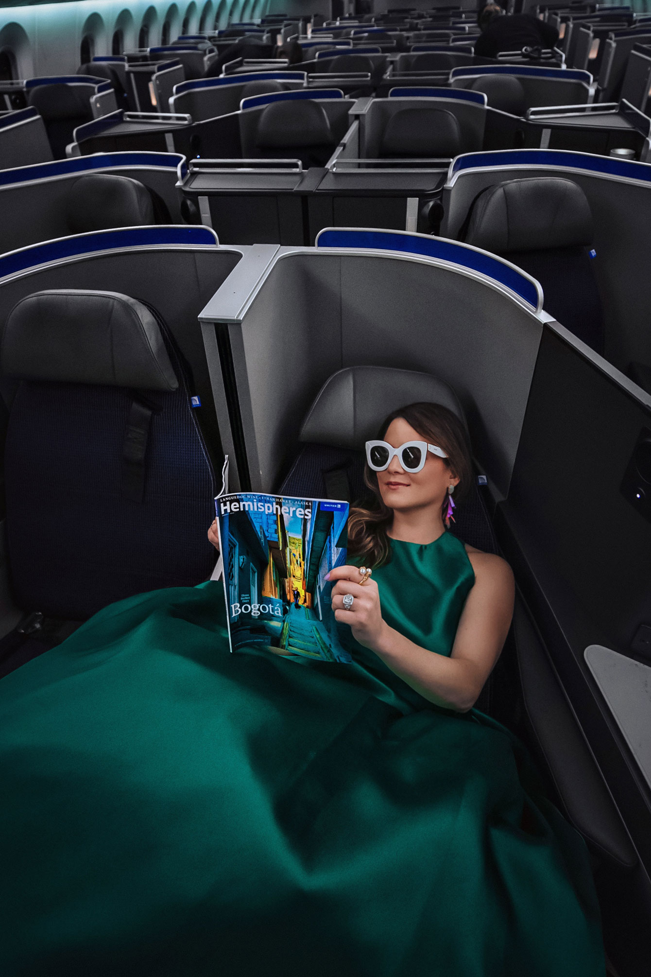 United Airlines 787 Polaris Seating