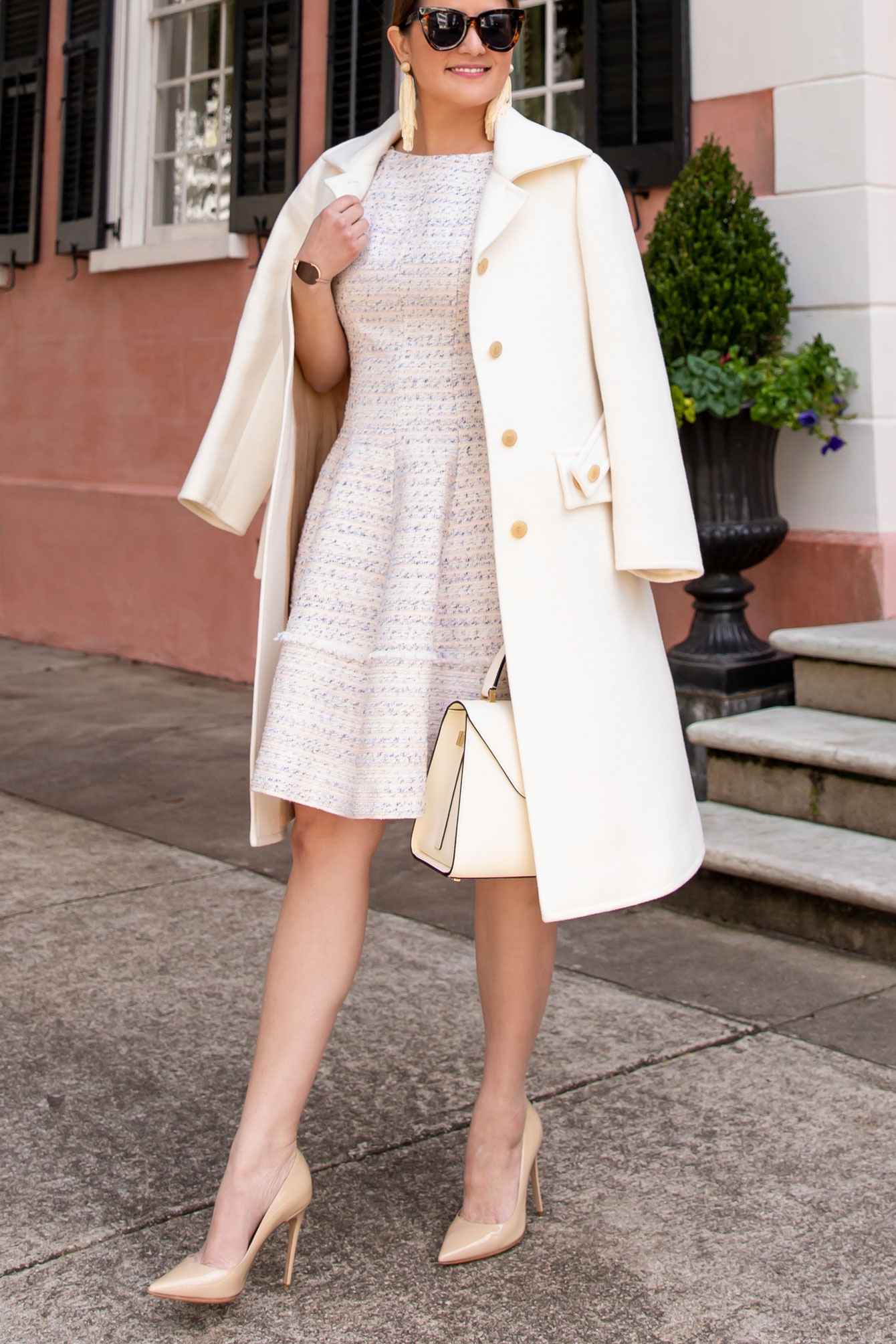 Chloe Ivory Coat