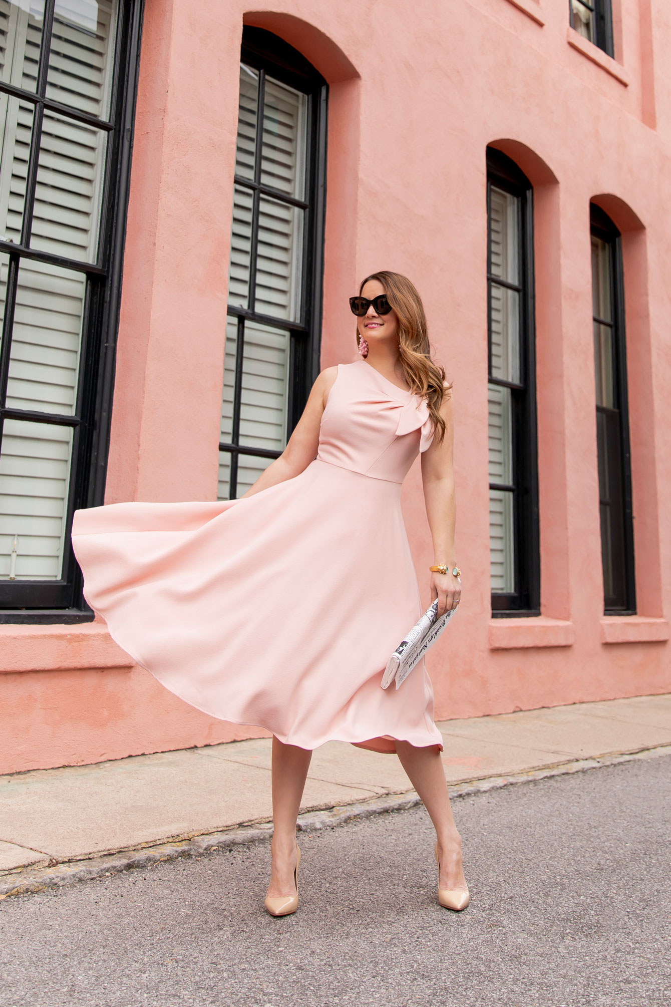 Harper Rose Pink Fit and Flare Dress