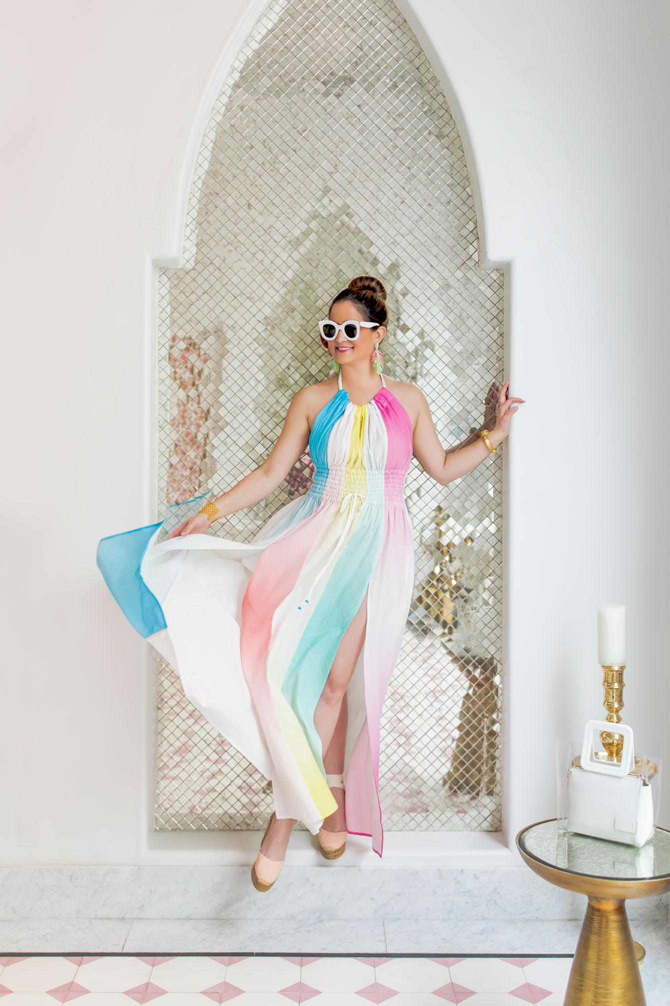 Jennifer Lake Ombre Maxi Dress