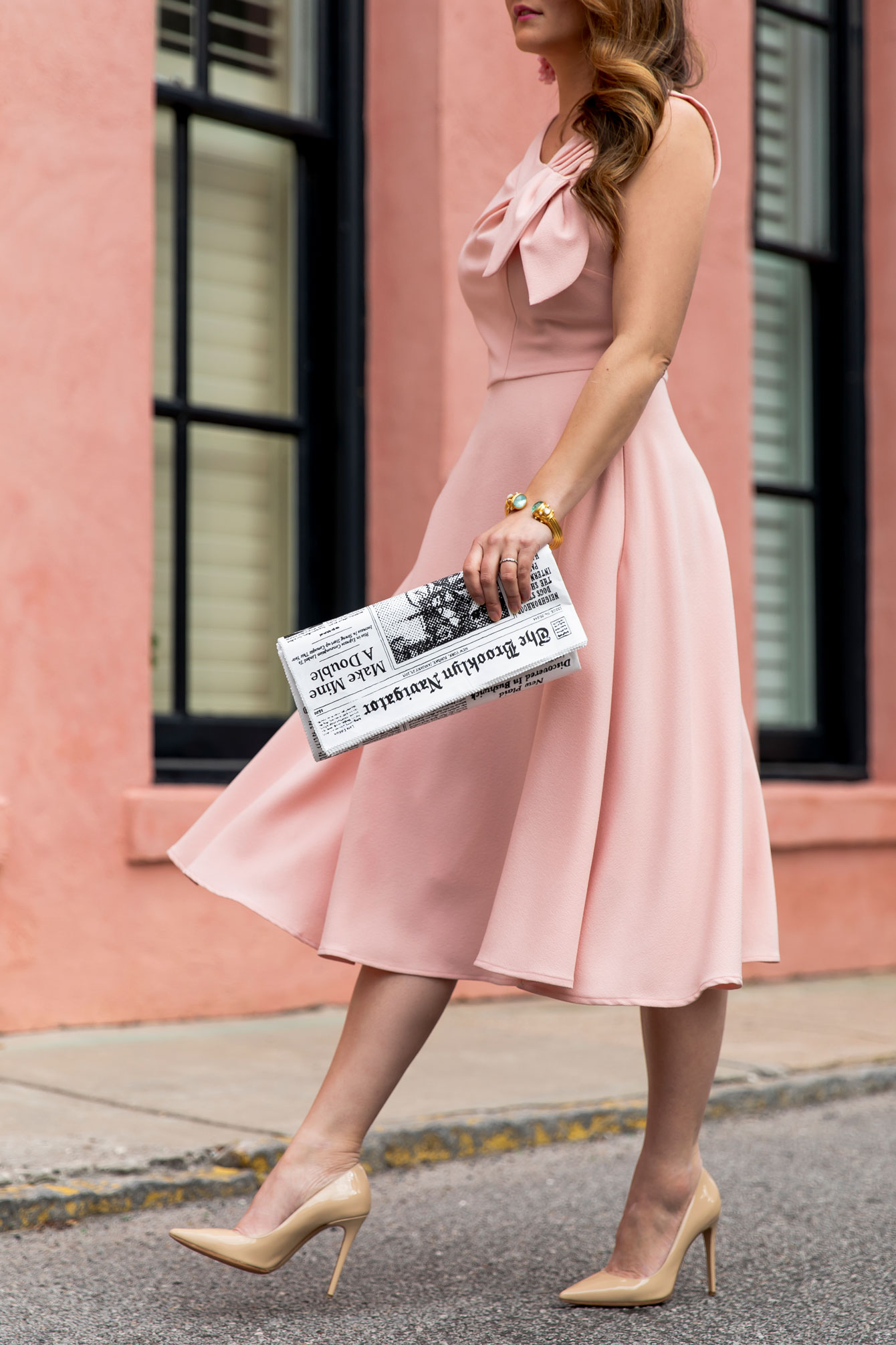 Kate Spade Newspaper Clutch