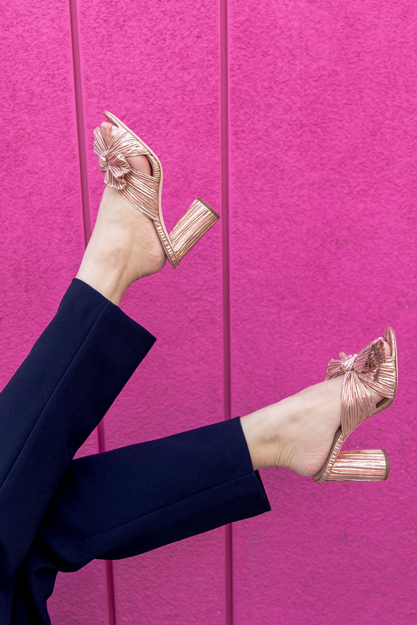 Loeffler Randall Penny Knot Sandals