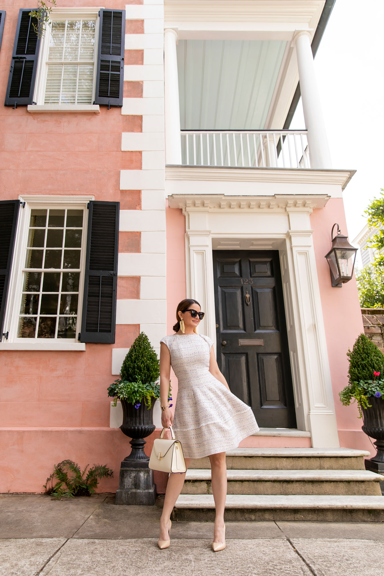 Style Charade Charleston Pink House