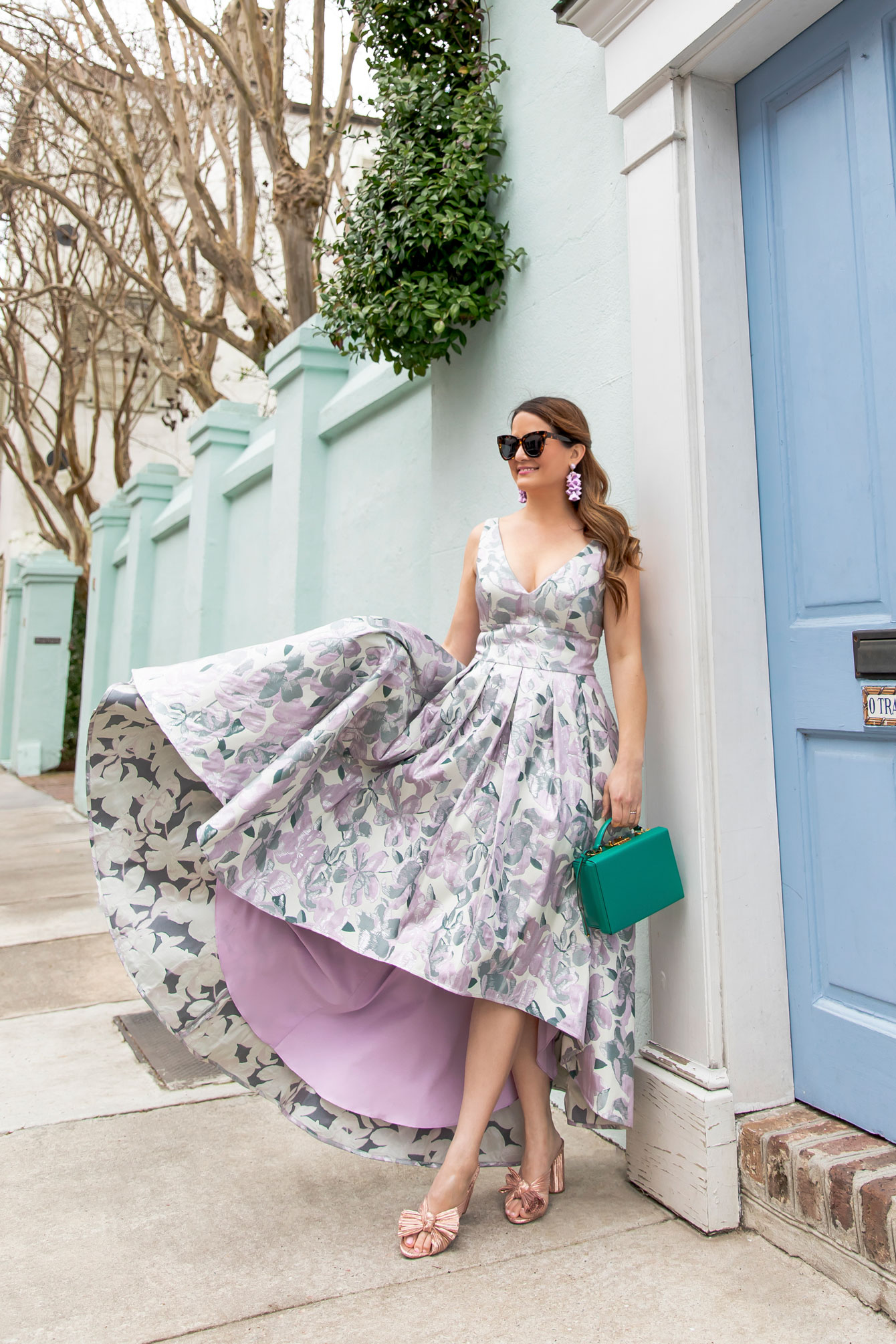 Style Charade Eliza J Floral Gown