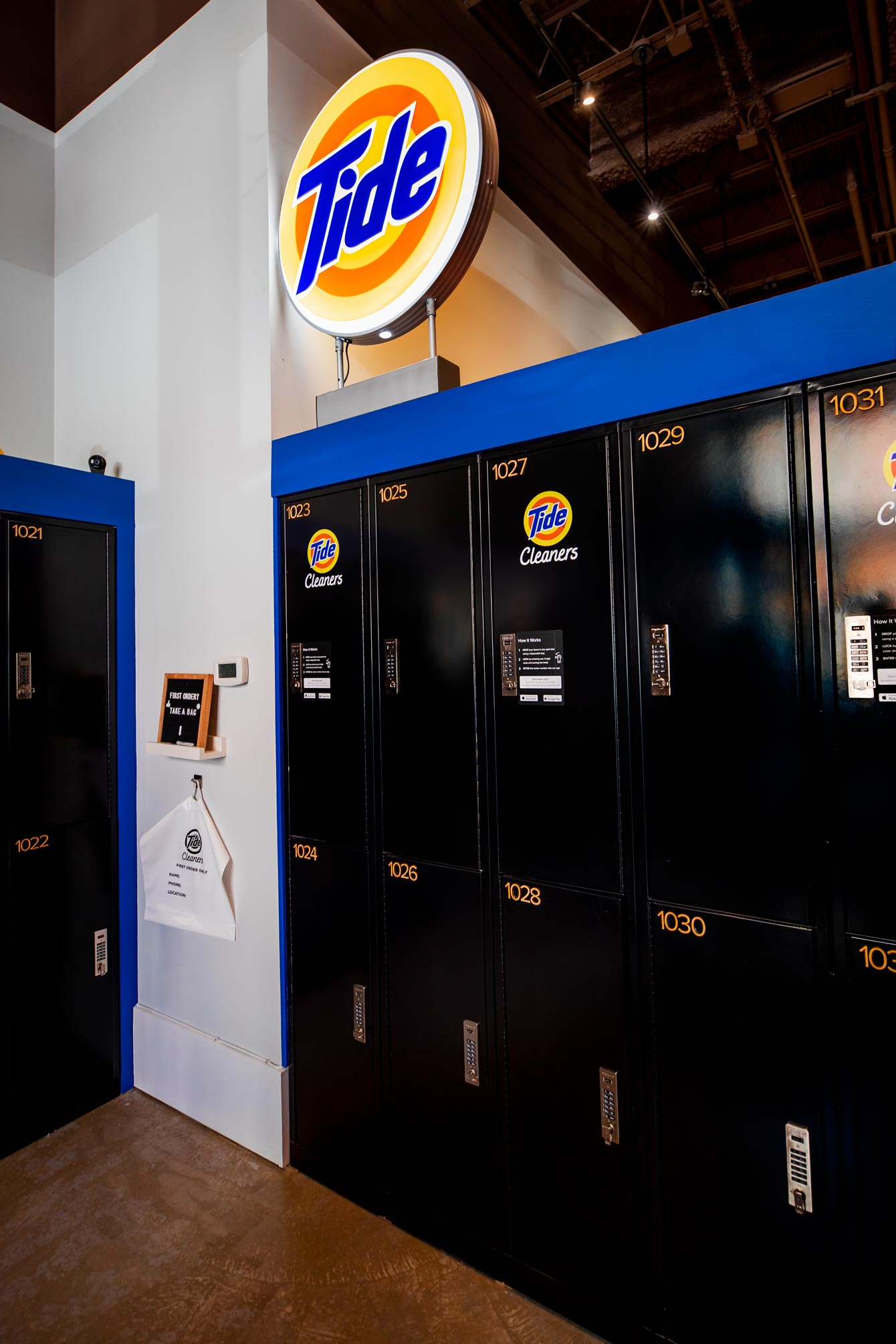 Tide Laundry Lockers
