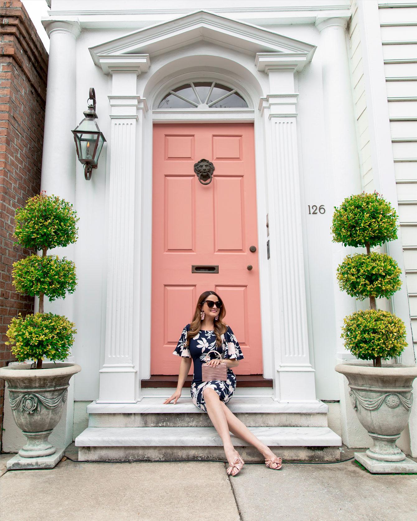 Charleston Pink Door