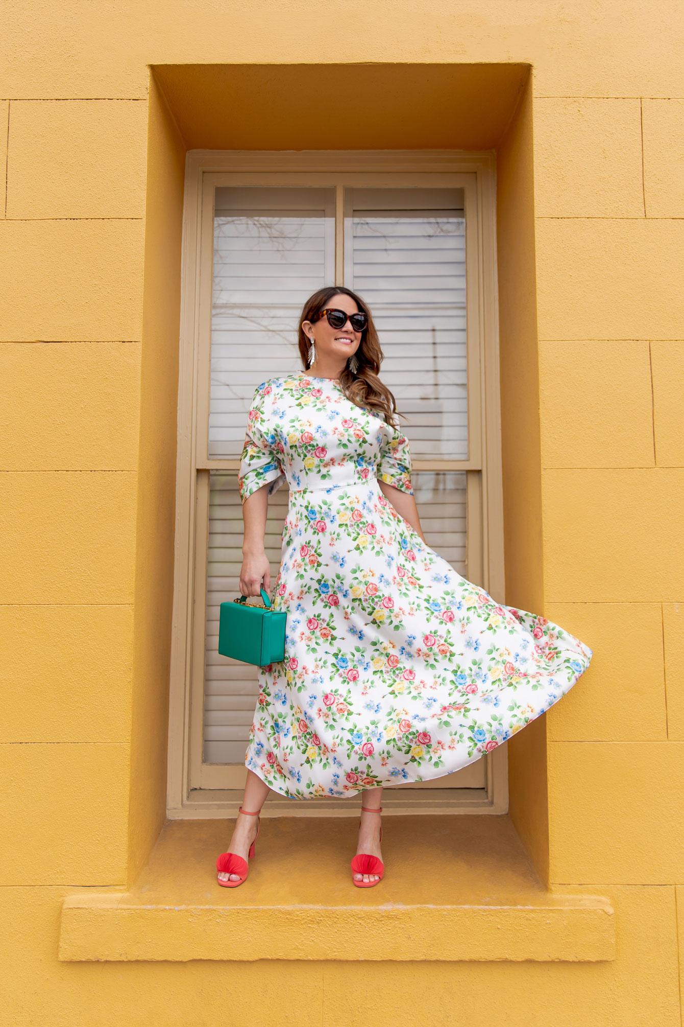 Emilia Wickstead Floral Dress