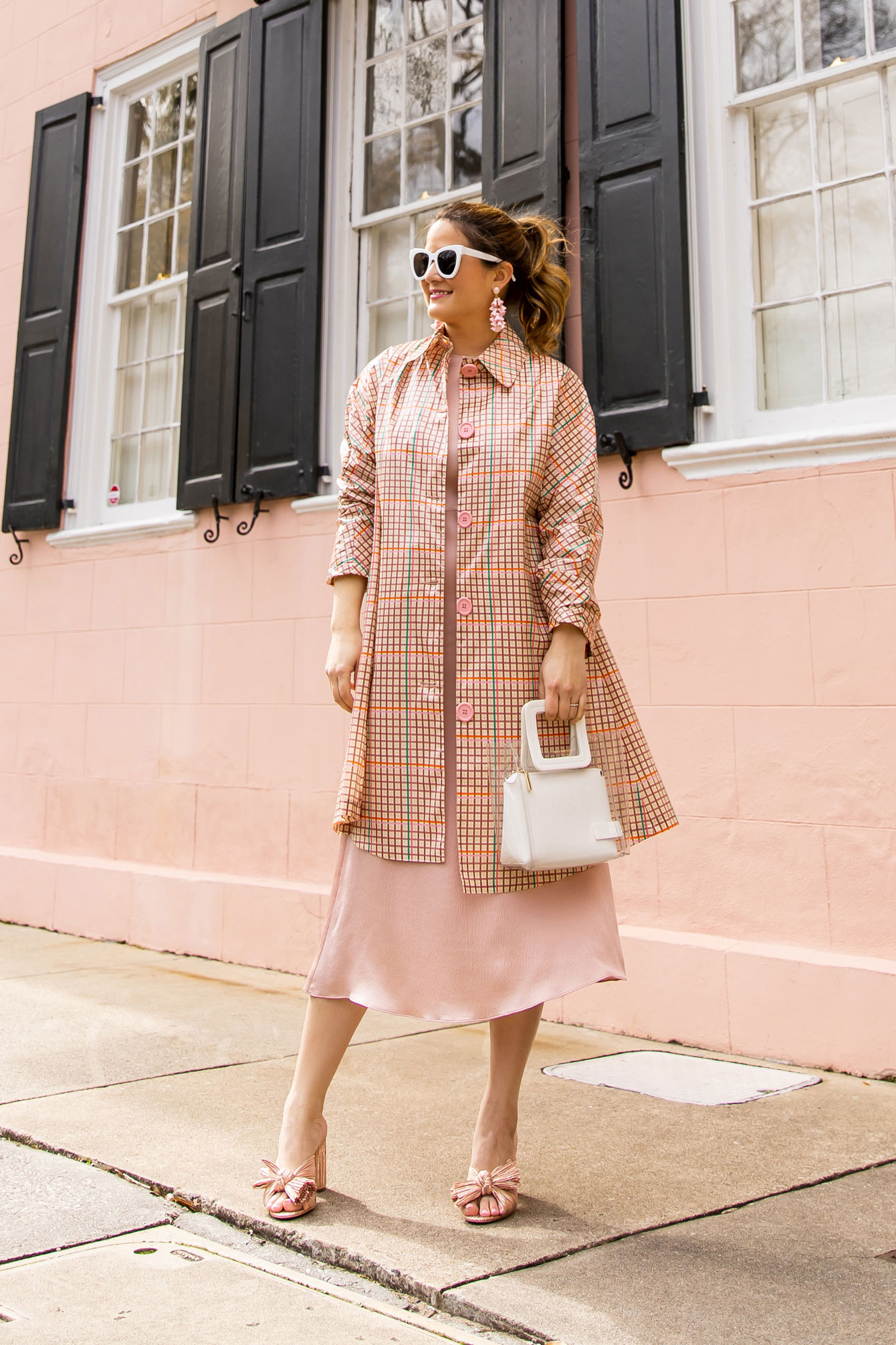 Mansur Gavriel Plaid Coat