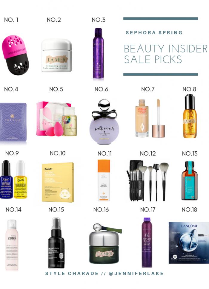 Best Buys at the Sephora Beauty Insider Spring Bonus Event