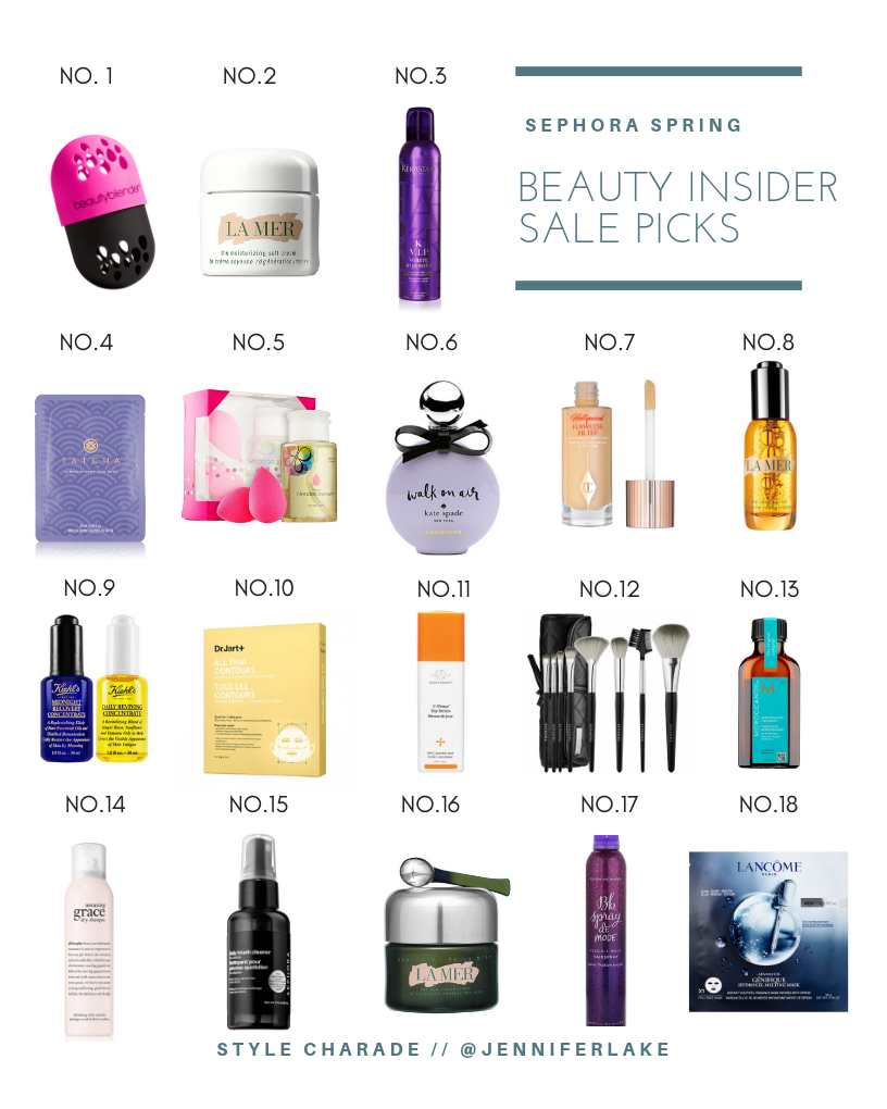 Sephora Spring Beauty Insider Sale