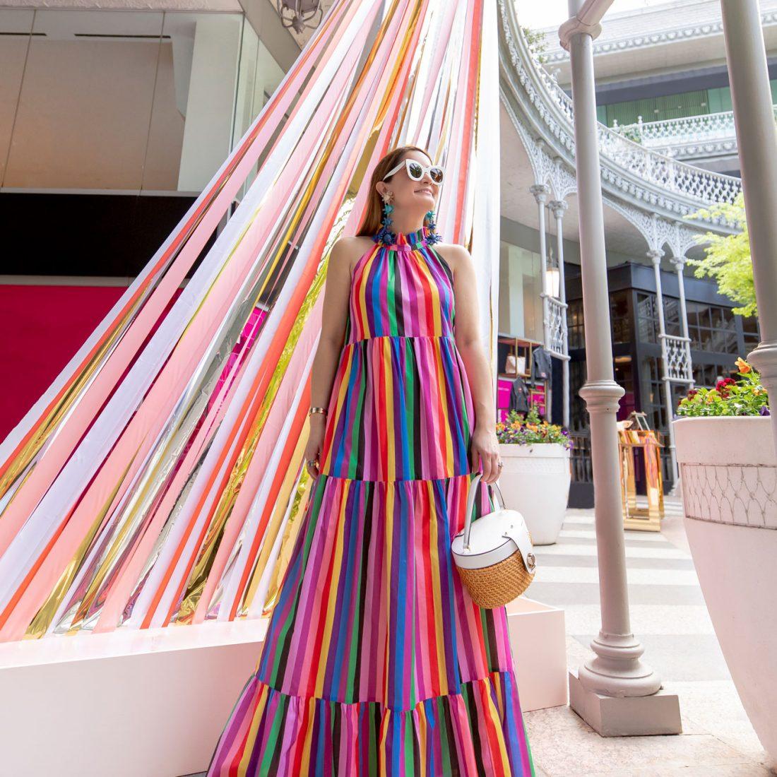 Borgo De Nor Rainbow Dress