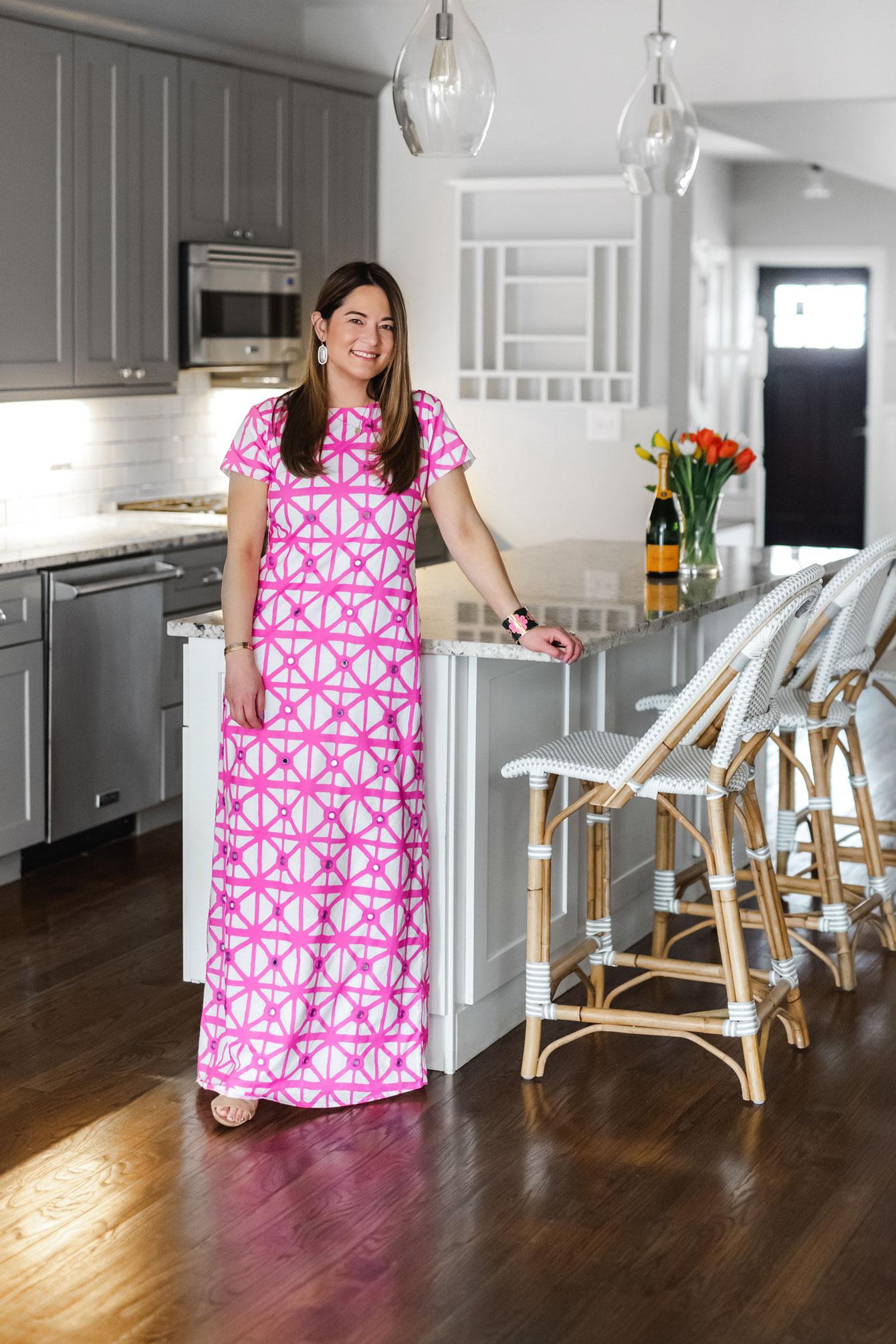 Sheridan French Pink Dress