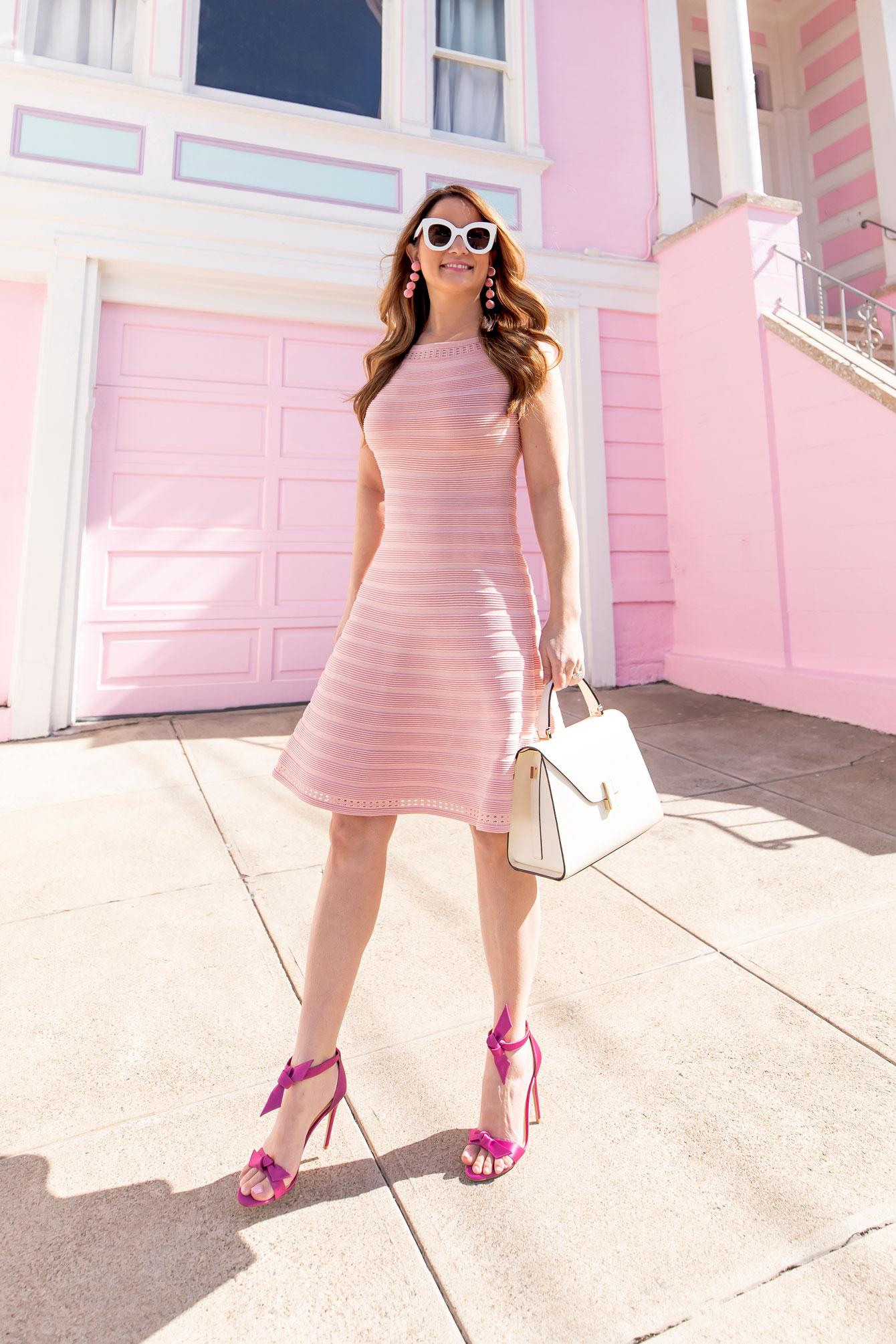 Alexandre Birman Clarita Pink Sandals