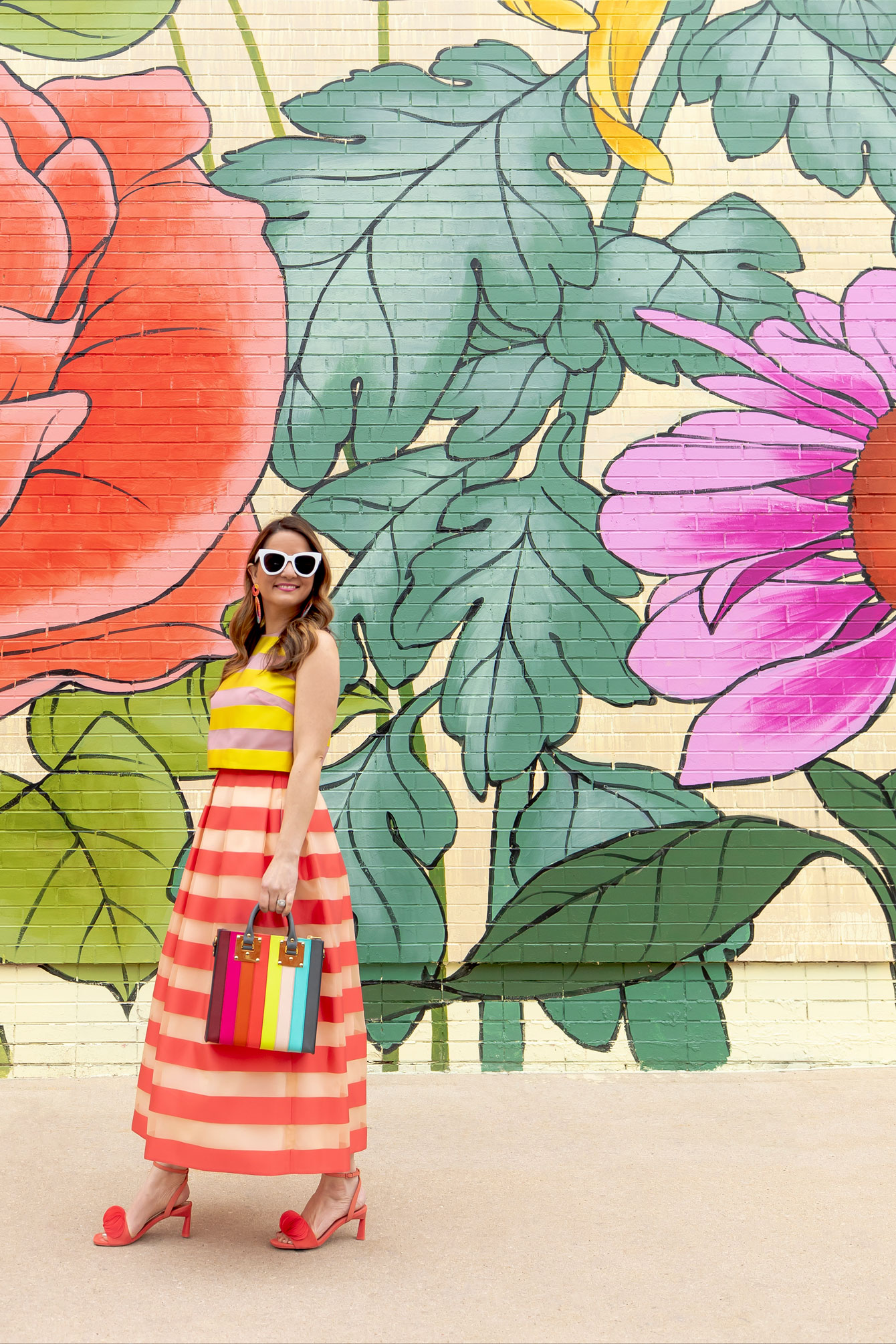 Floral Mural Chicago 0uizi