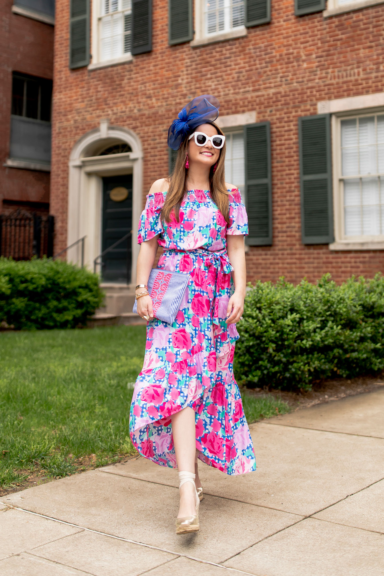 Jennifer Lake Vineyard Vines Kentucky Derby