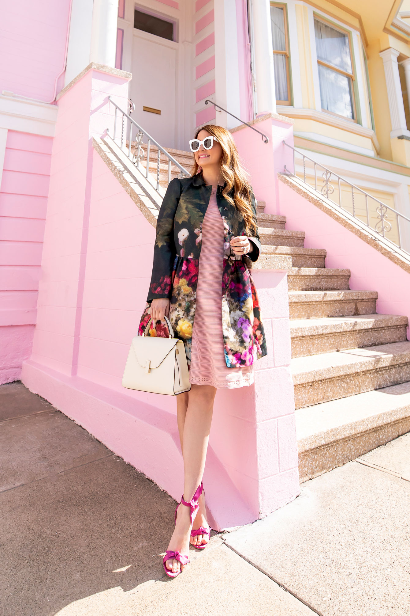 Red Valentino Floral Jacket