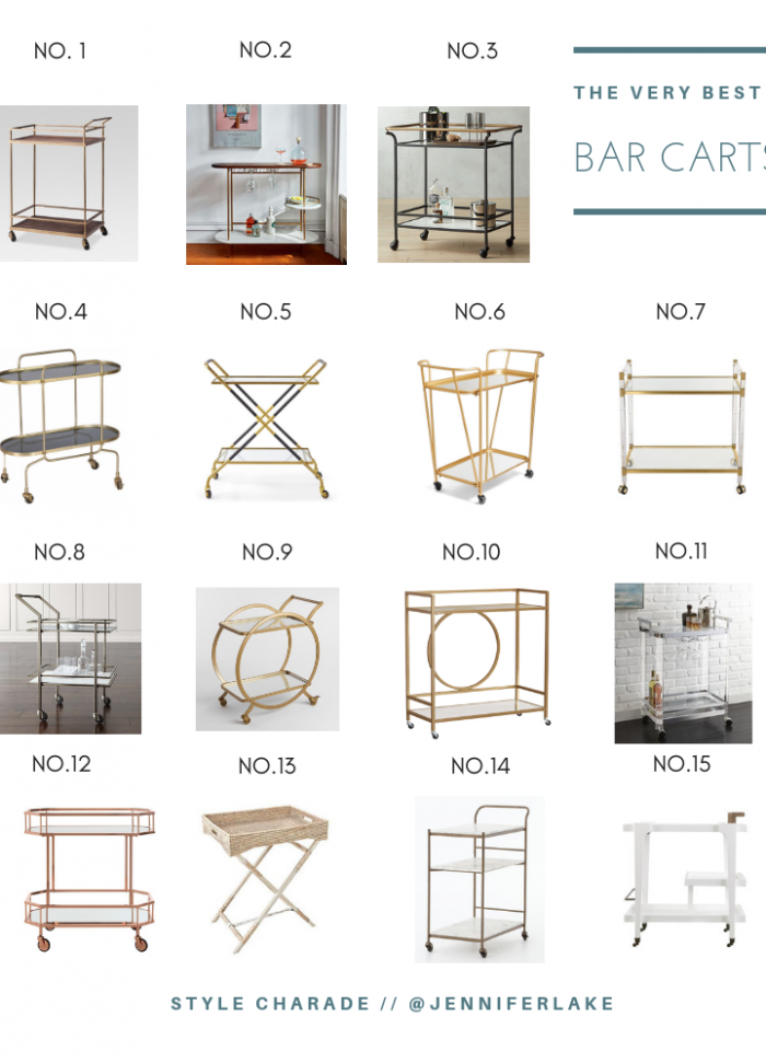Best Bar Carts for the Home