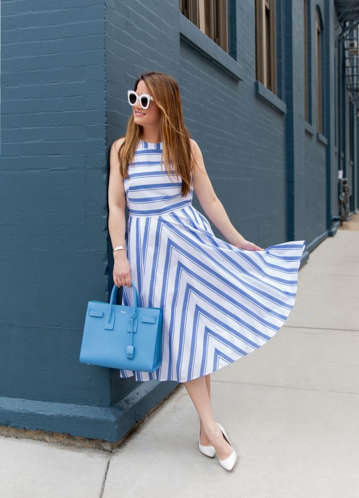 My Favorite Stripe Dress of the Season