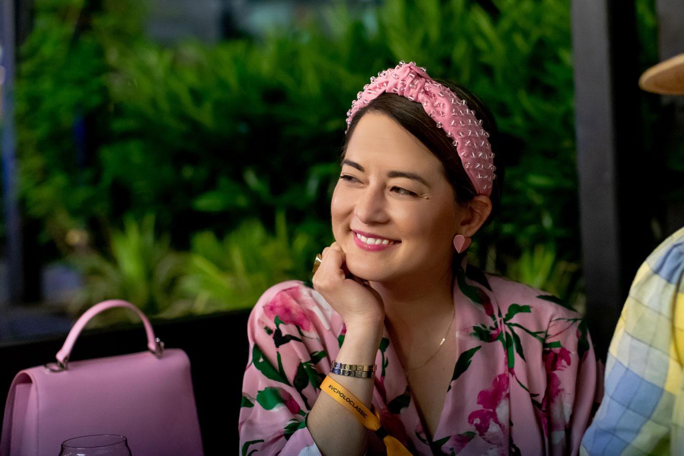 Lele Sadoughi Pink Headband