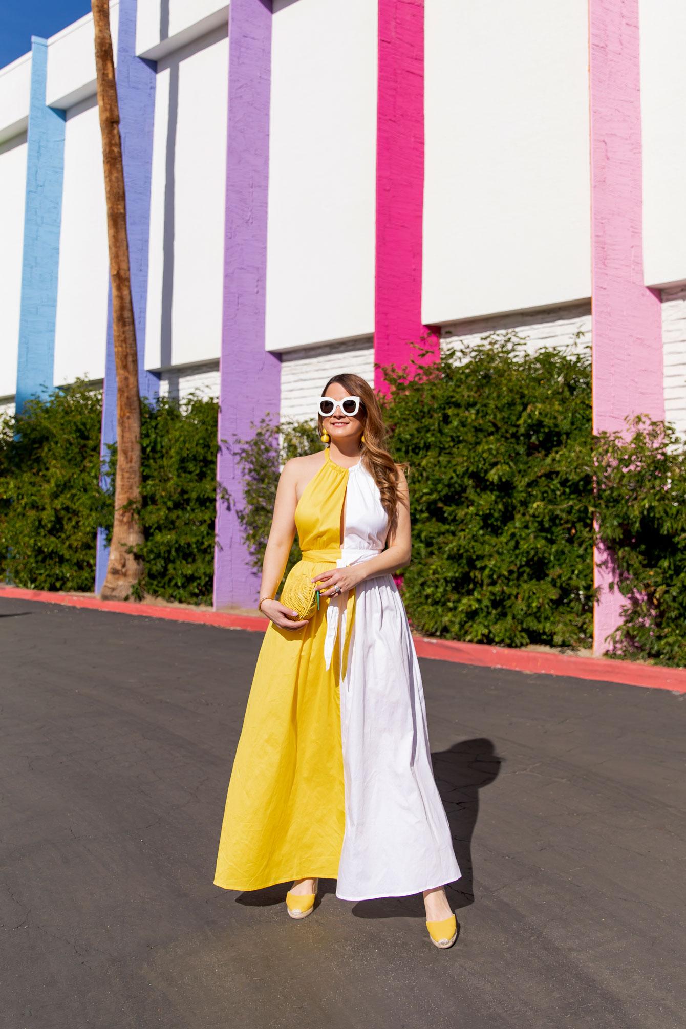 Matra Hoffman Colorblock Dress