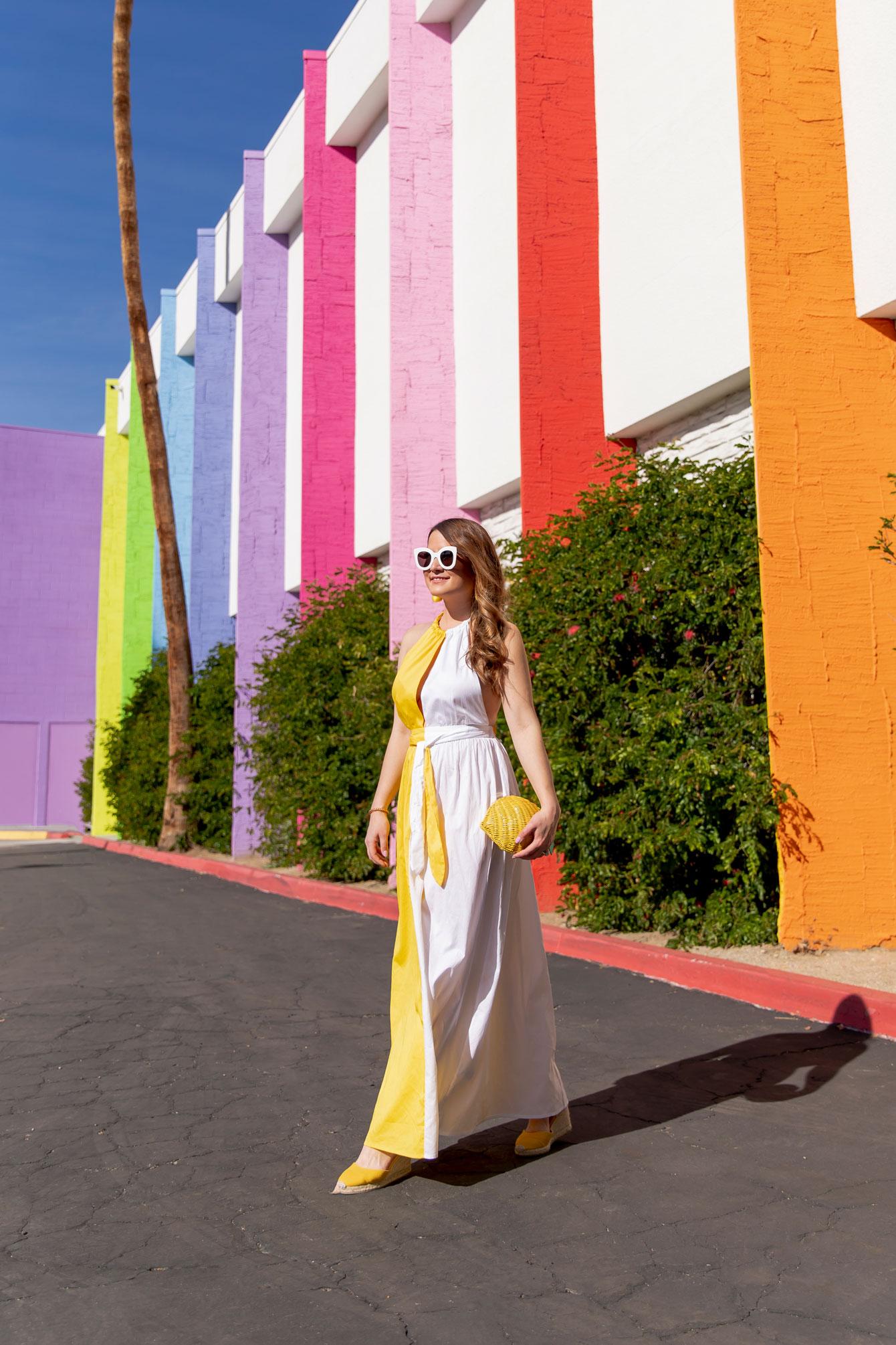 Mara Hoffman Yellow Sundress