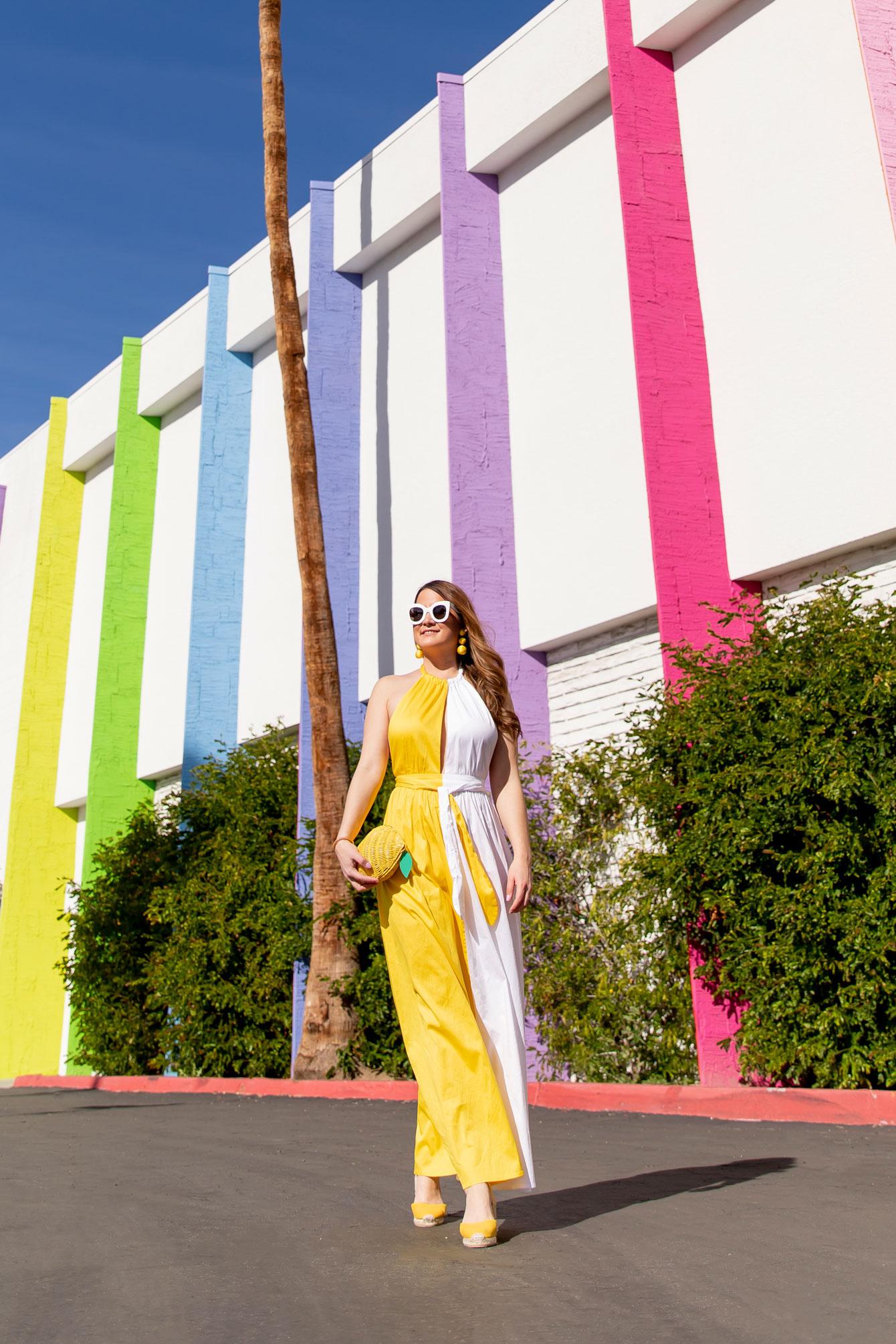 Mara Hoffman Yellow White Dress