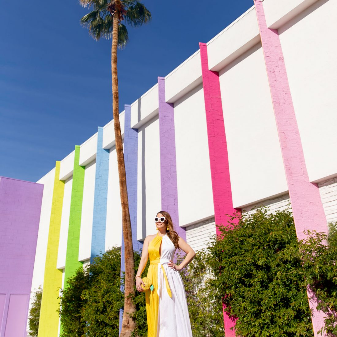 Palm Springs Colorful Hotel