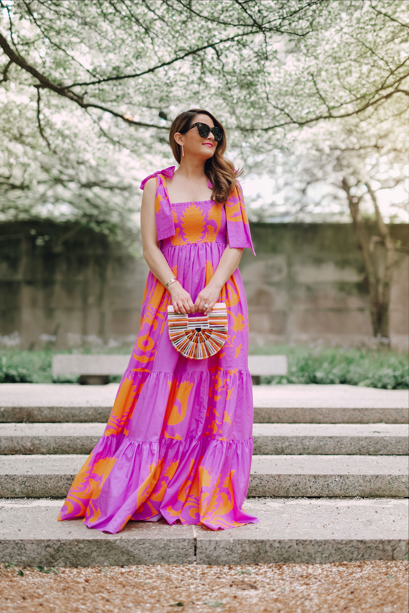 Sheridan French Colorful Maxi Dress