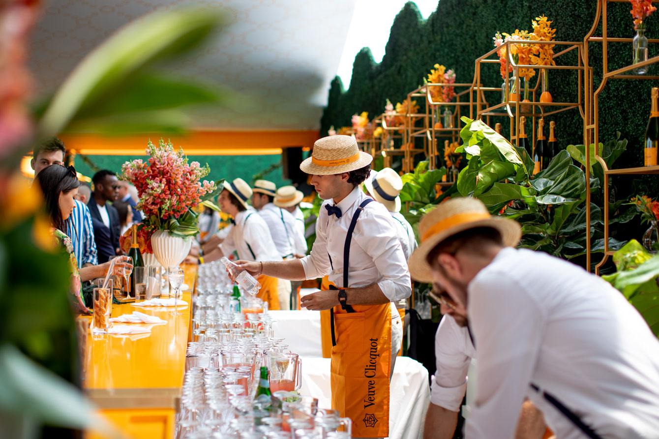 Veuve Clicquot Polo Classic Bartenders
