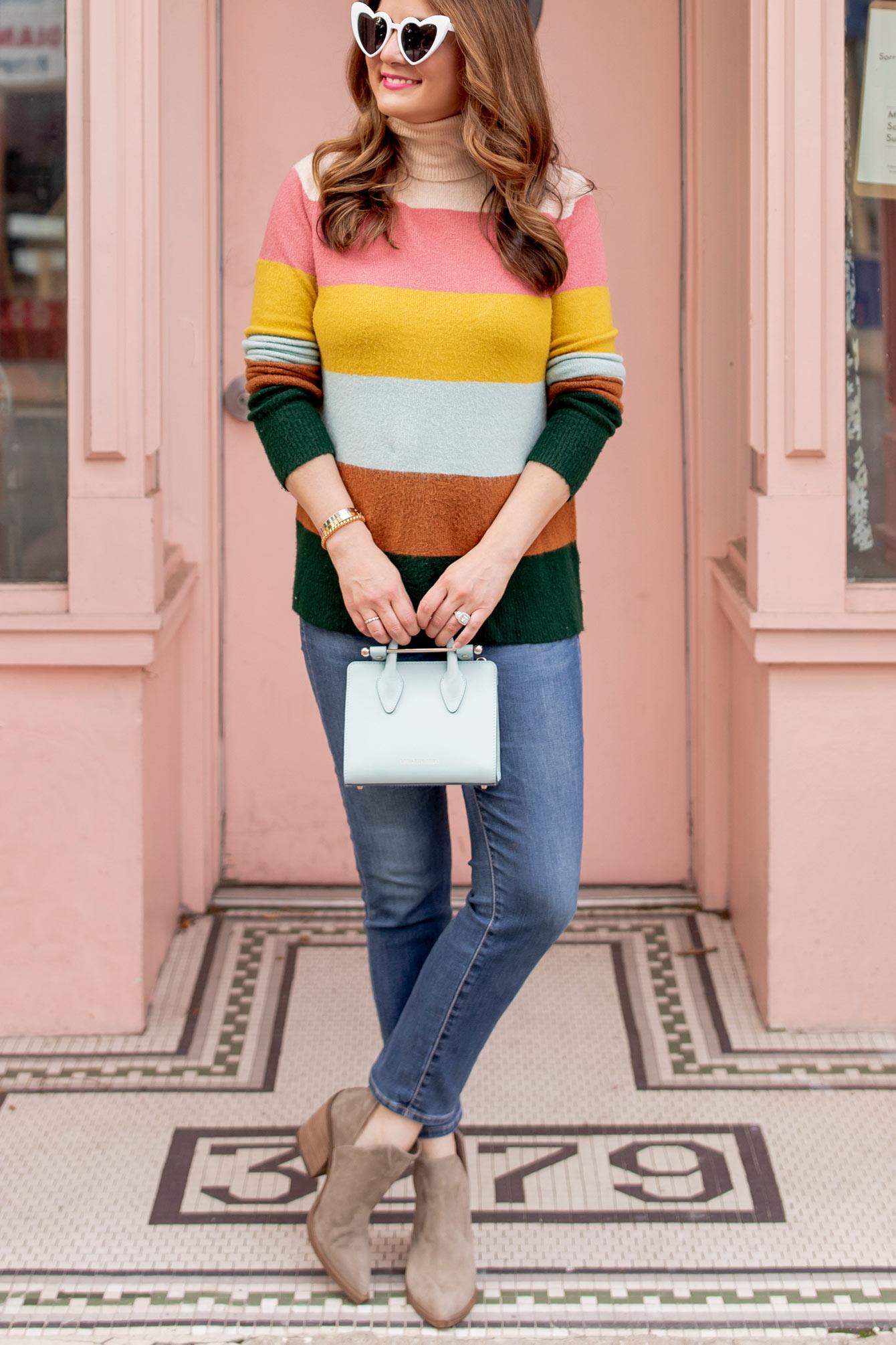 Atlantic Pacific Halogen Stripe Sweater