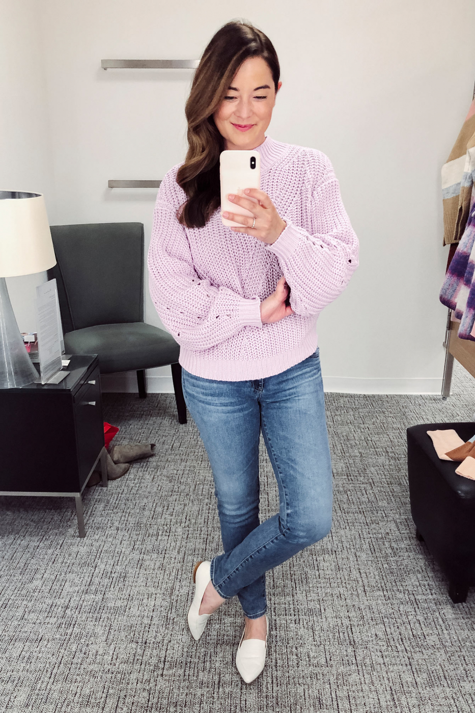 BP. Lilac Sweater Nordstrom Anniversary Sale