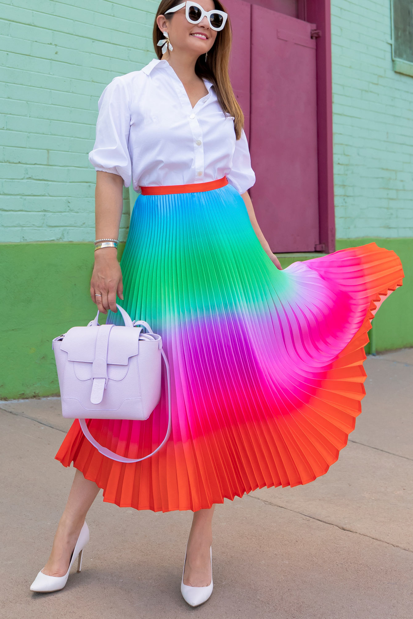 Delfi Collective Rainbow Skirt