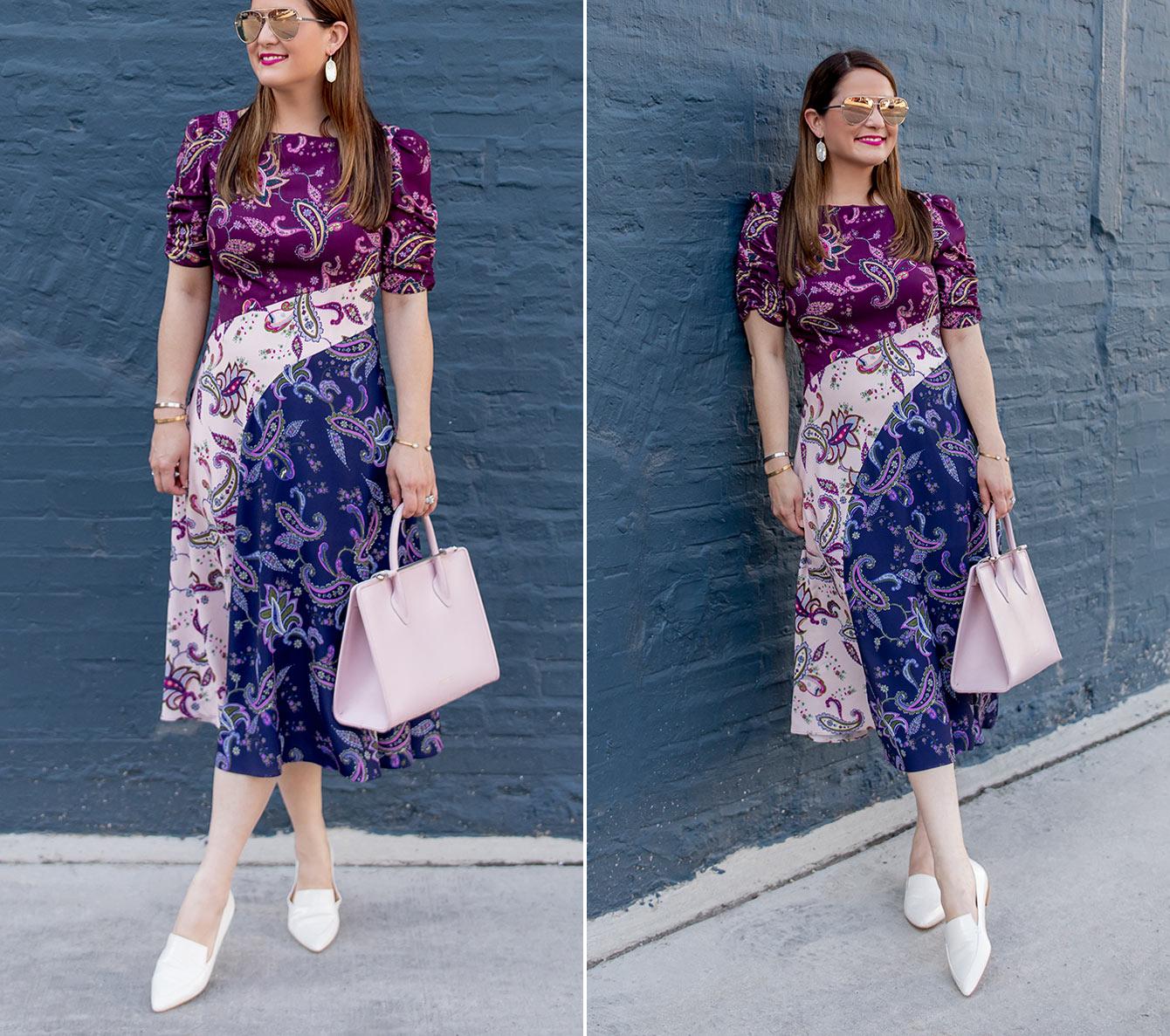 Eliza J Paisley Dress