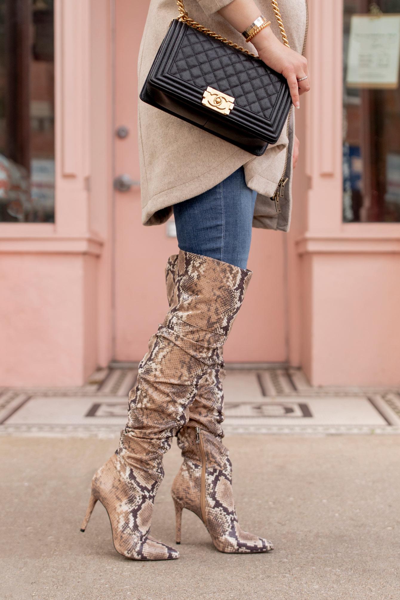 Jessica Simpson Snakeskin Boots