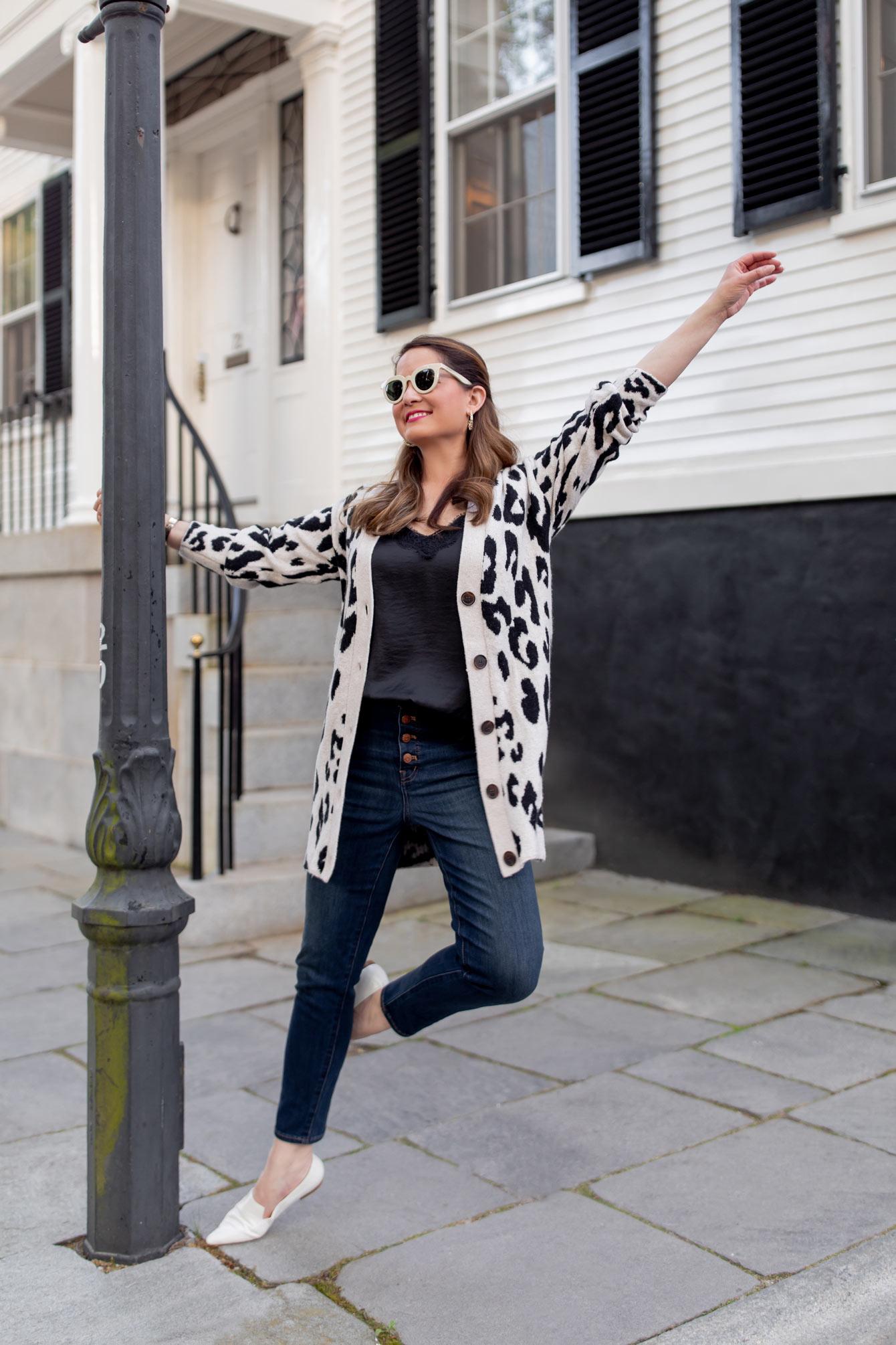 Madewell High Waist Button Front Jeans