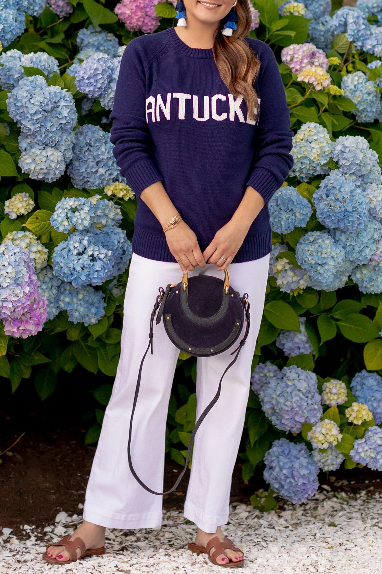 Navy Nantucket Sweater