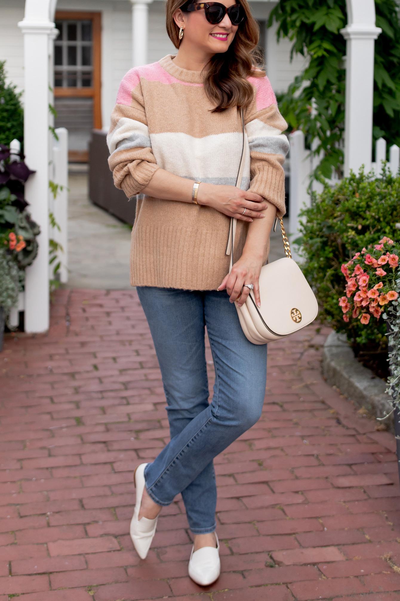 Nordstrom TOPSHOP Stripe Sweater
