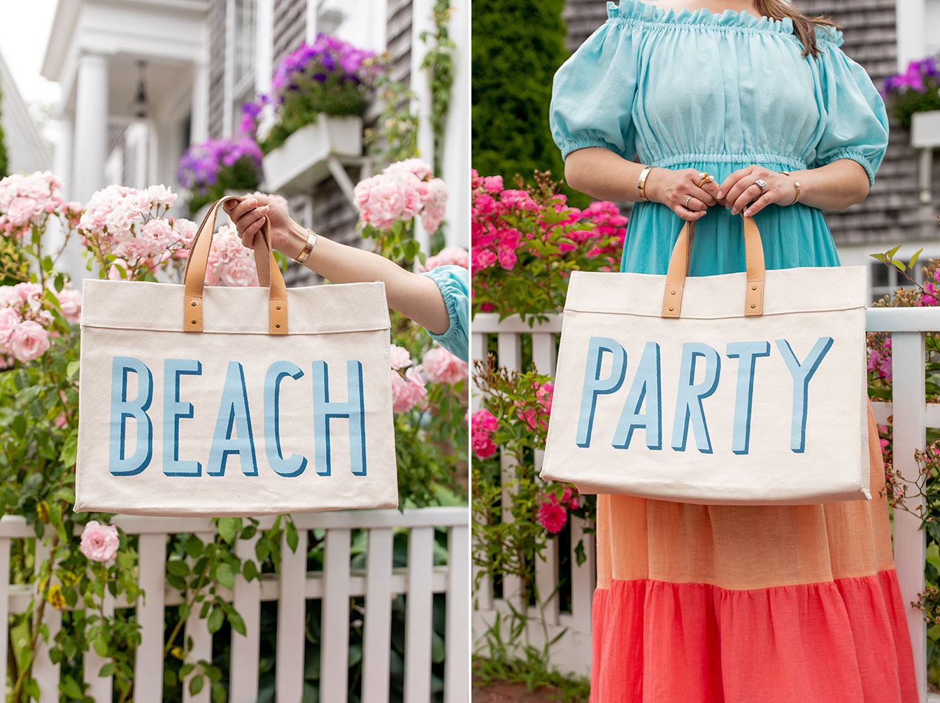 Pencil Paper Beach Party Tote